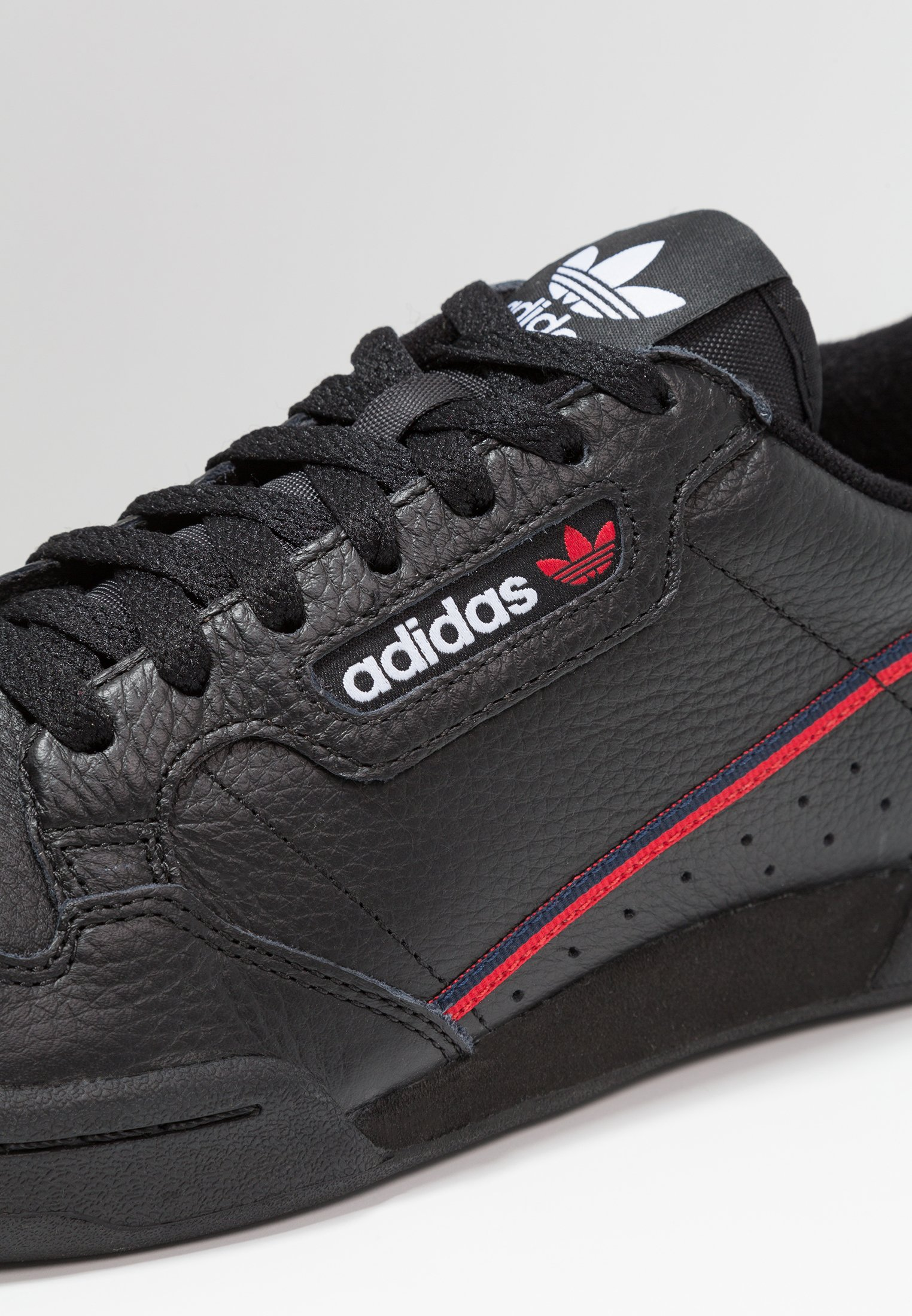 Adidas Originals Continental 80 Skateboard Shoes - Sneakers Core Black/scarlet/collegiate Navy
