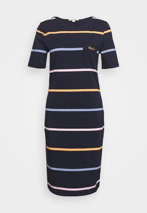 STOKEHOLD DRESS - Žerzejové šaty - navy