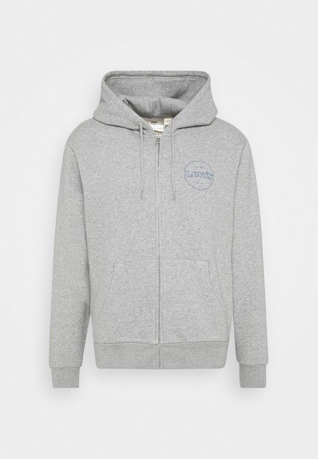 GRAPHIC ZIP UP UNISEX - veste en sweat zippée - greys