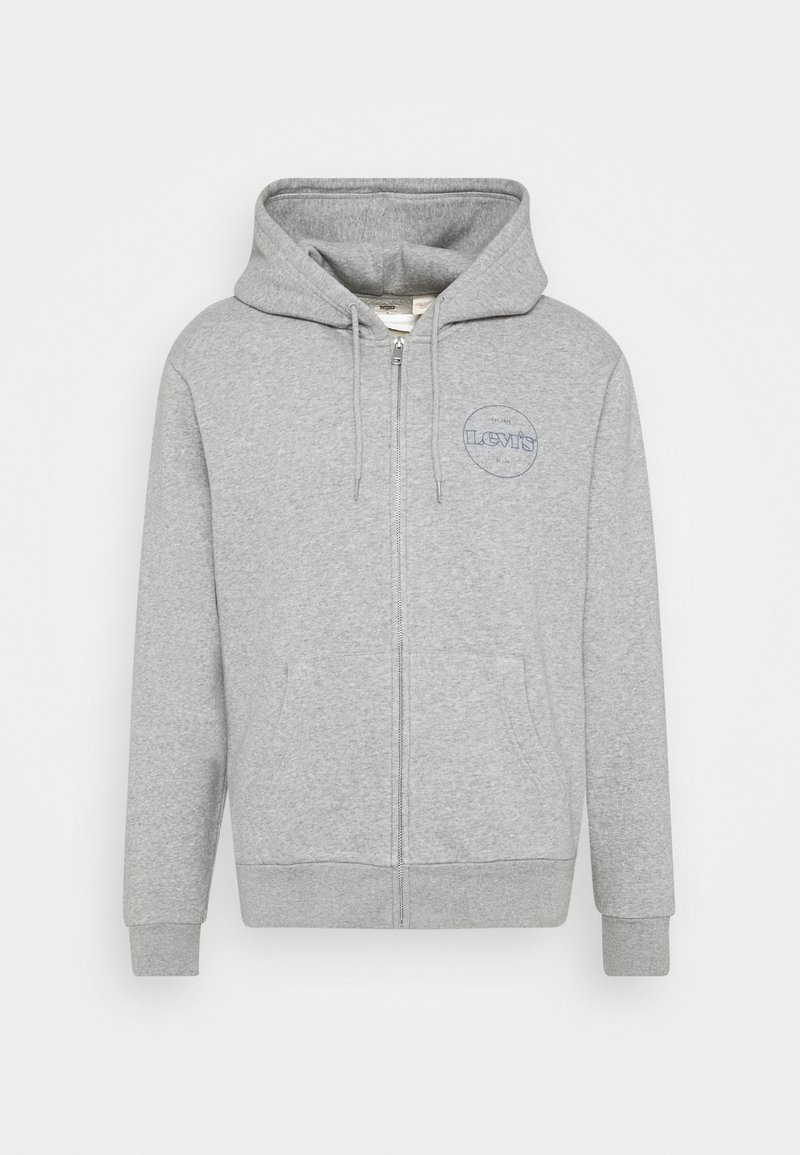 Levi's® - GRAPHIC ZIP UP UNISEX - Mikina na zip - greys