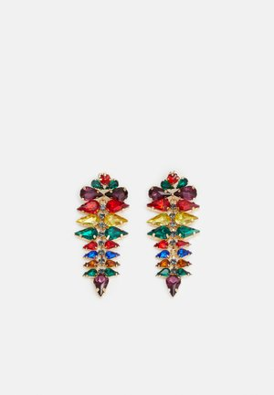 PCMARITZA EARRINGS - Náušnice - gold-coloured/multi