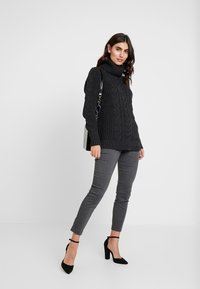 GAP - ANKLE BISTRETCH - Kalhoty - heather charcoal - 1
