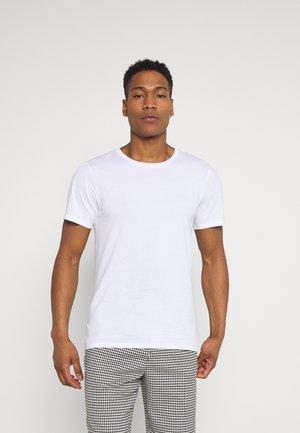 OLIVER LIGHT - Jednoduché triko - white