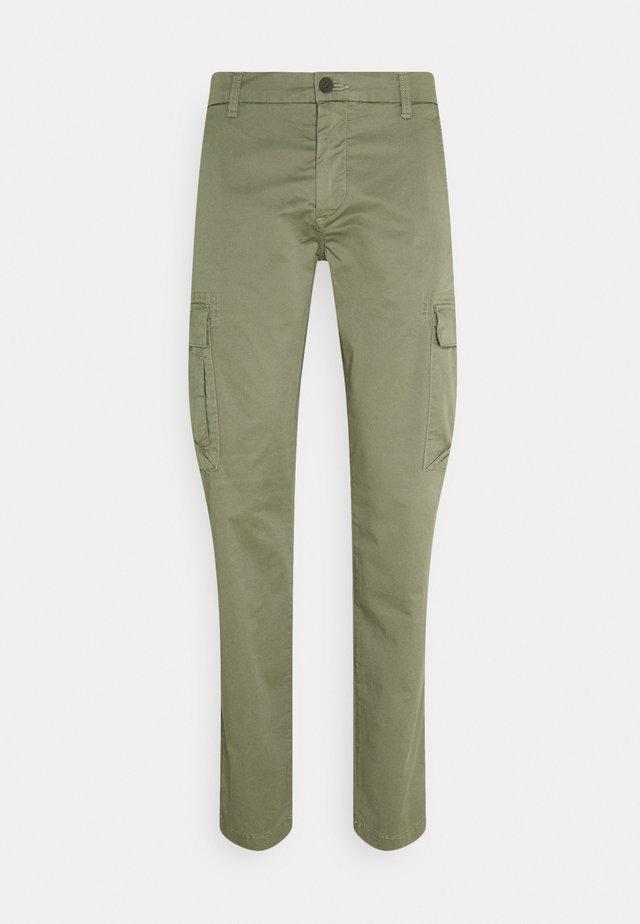 SMART TECH  - Pantaloni cargo - deep lichen green