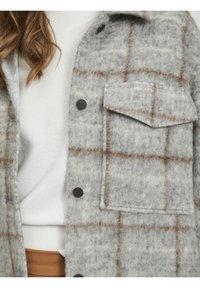 Object - OBJSOLA LONG - Short coat - light grey melange - 2