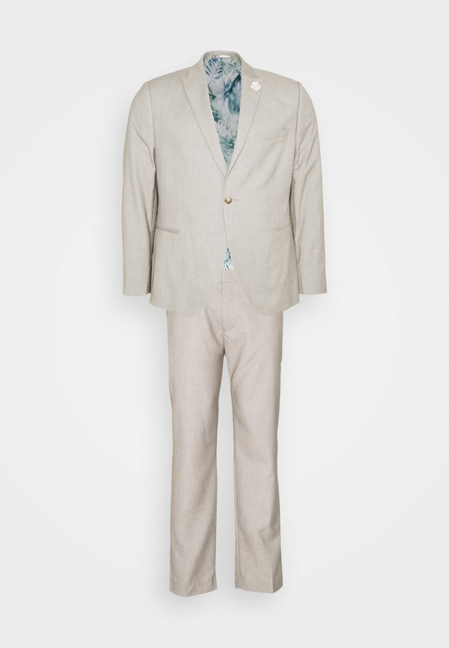 WEDDING SUIT - Garnitur - beige