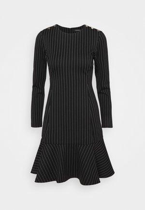 PINSTRIPE - Day dress - black