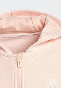 adidas Performance - 3-STRIPES FULL-ZIP HOODIE - Zip-up hoodie - pink - 2