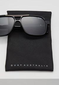 QUAY AUSTRALIA - NEMESIS - Sluneční brýle - black - 2