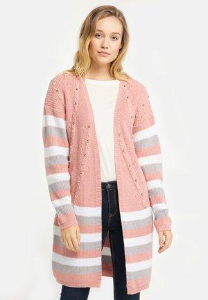 Cardigan - dark pink