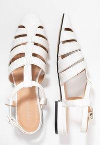 Topshop - OLIVE OPEN SHOE - Sandals - white - 3