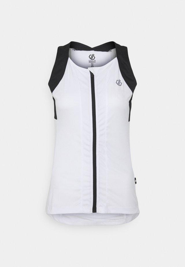 REGALE VEST - Top - white/black