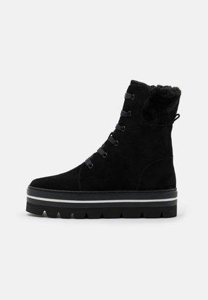 HILL STREET - Stivali da neve  - black