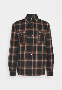 Denim Project - CHECK HEAVY OVERSHIRT - Skjorta - brown - 0