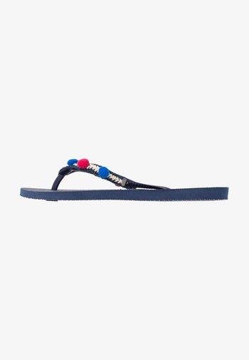 SLIM BOHO - Pool shoes - navy blue