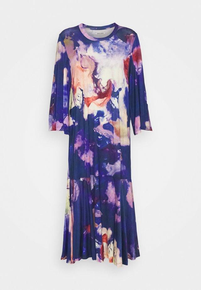 STREAM DRESS - Jersey dress - blue