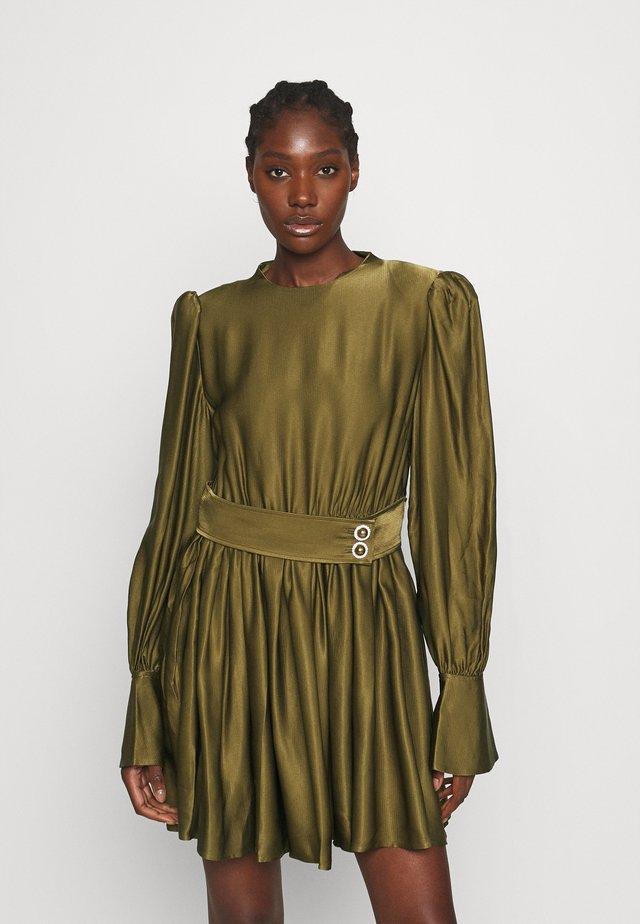 LISSA - Vestito elegante - dark olive