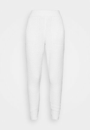 SAFIYA JOGGER - Tracksuit bottoms - cream