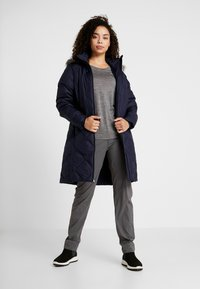 Columbia - ICY HEIGHTS MID LENGTH JACKET - Down coat - dark nocturnal - 1