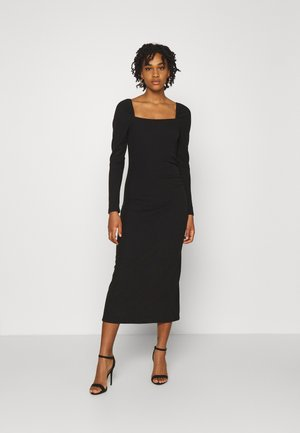 YASZALIA MIDI DRESS - Jerseykjole - black