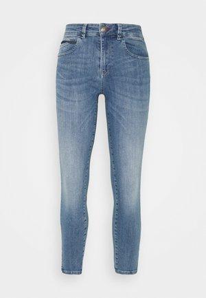 NATALY - Slim fit jeans - blue denim