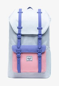 ballad blue pastel crosshatch/candy pink/dusted peri