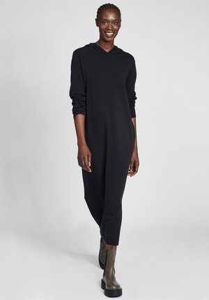 MIT KAPUZE - Day dress - schwarz