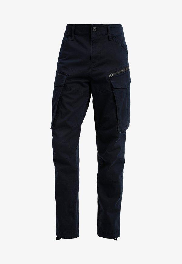 G-Star ROVIC ZIP TAPERED - BojÓwki - dark blue/granatowy Odzież Męska WYDS