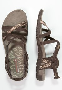 Merrell - TERRAN LATTICE II - Outdoorsandalen - dark earth - 1
