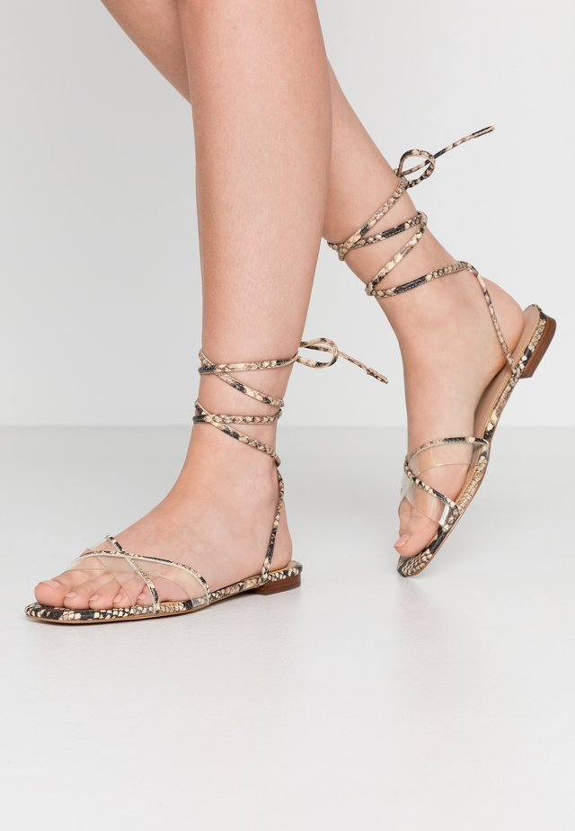 CANDID - Sandals - natural