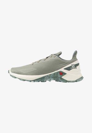ALPHACROSS BLAST - Trail running shoes - shadow/vanilla/castor gray
