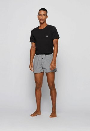 2 PACK - Pyjamasbyxor - black
