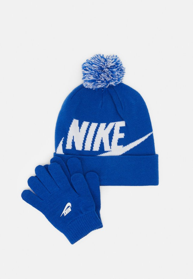 POM BEANIE GLOVE SET - Gants - game royal