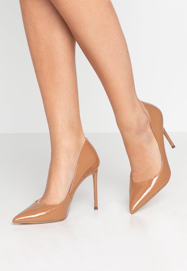 VALA - Zapatos altos - camel