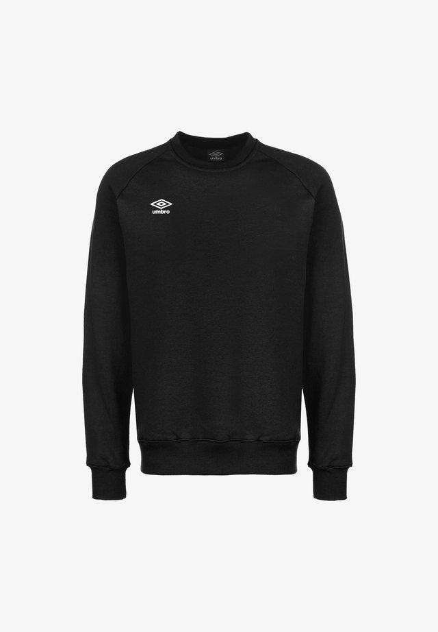 Sweatshirt - black / white