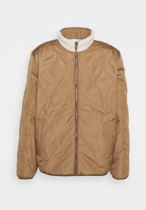 REVERSIBLE JACKET - Light jacket - organic white