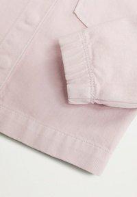 Mango - DEBBIE - Denim jacket - licht/pastelpaars - 2