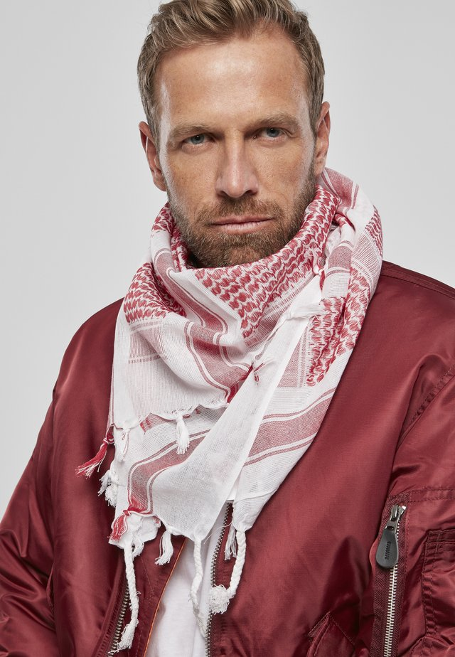 Scarf - red/wht