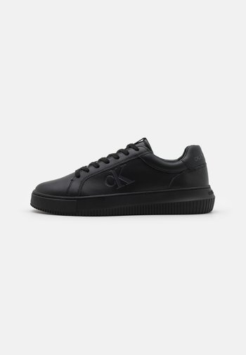 CHUNKY CUPSOLE LACEUP - Trainers - triple black