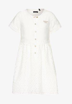Košilové šaty - blanc cassé