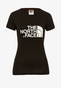 The North Face - WOMENS EASY TEE - Print T-shirt - black - 6