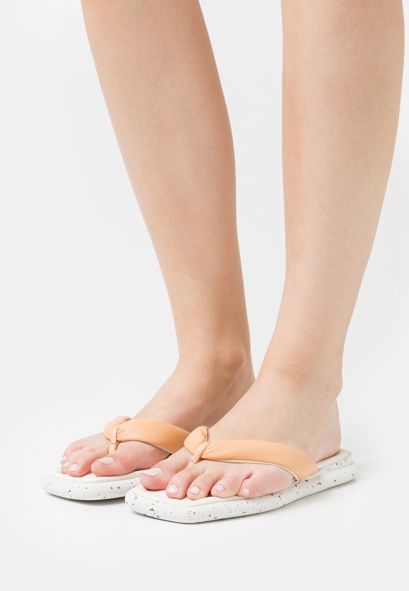 Oa non fashion - T-bar sandals - latte