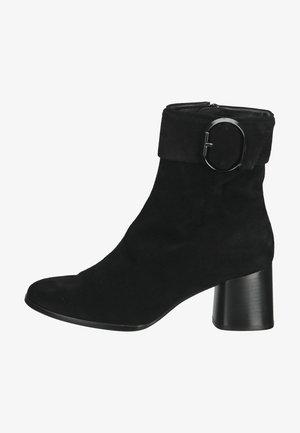 Kovbojské/motorkářské boty - schwarz