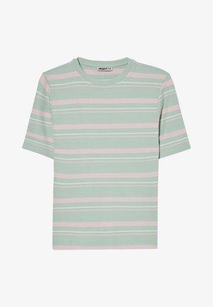 ARCHIVE - Print T-shirt - green rose