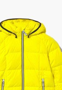 Reima - JORD UNISEX - Down jacket - lemon yellow - 3