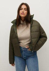 Violeta by Mango - CLOUDI - Winter jacket - dunkelgrün - 0