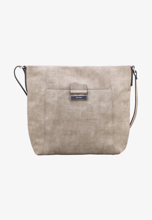 BE DIFFERENT  LVZ - Handbag - taupe