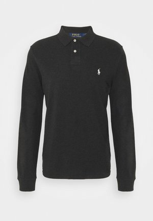Polo shirt - black marl heather