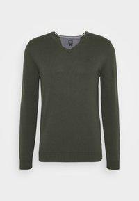 LANGARM - Sweter - khaki/olive