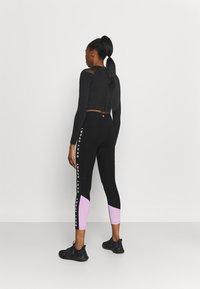 DKNY - HIGH WAIST LEGGING  - Leggings - lilac - 2